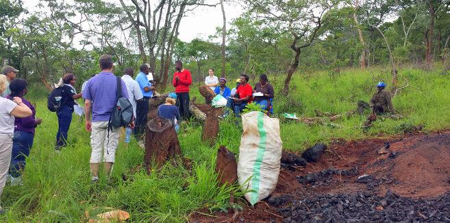 Zambia-EcoCharcoal Site