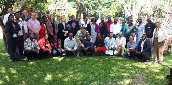 Zambia REDD+ Group Photo