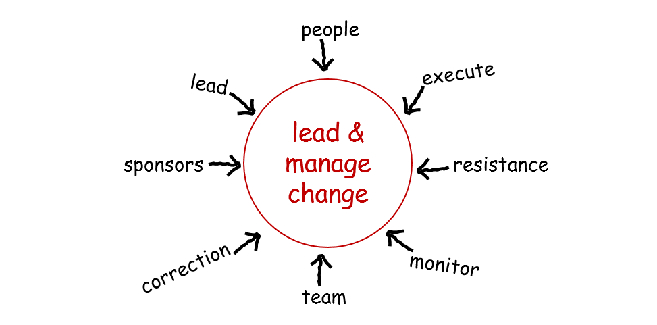 lead and manage change